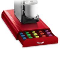 Nespresso® Coffee Capsule Drawer in Red (50 Pod Capacity)