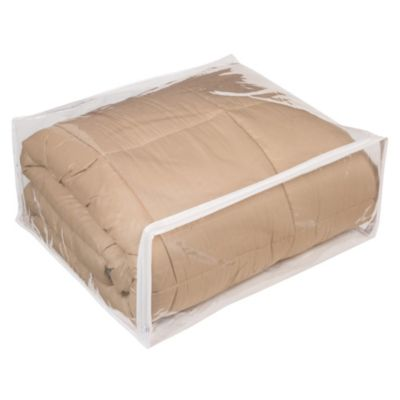 Closetware Clear Comforter Bag  sc 1 st  Bed Bath u0026 Beyond & Buy Clear Garment Storage Bags from Bed Bath u0026 Beyond