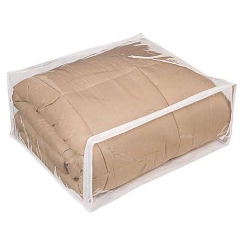 Closetware Clear Comforter Bag Bed Bath Amp Beyond