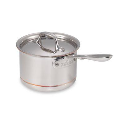 allclad copper core 2quart covered saucepan