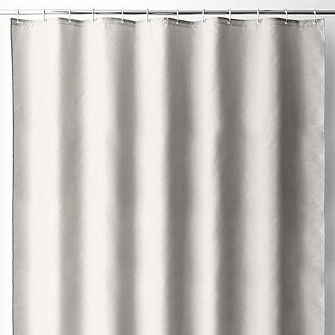 Hotel MicrobanR Fabric Shower Curtain Liner