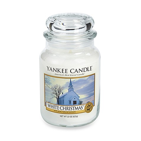 Yankee Candle® White Christmas™ Scented Candle - Bed Bath ...