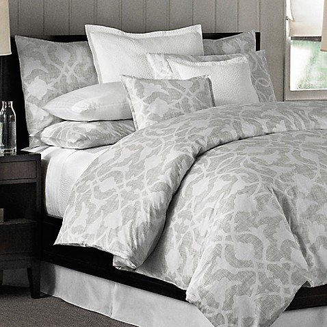 Barbara Barry 174 Poetical Duvet Cover In Cinder Bed Bath
