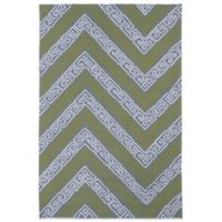 Kaleen Matira Key 3-Foot x 5-Foot Indoor/Outdoor Rug in Grey