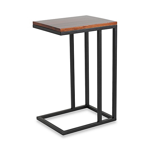 Steel Base C Shaped Table
