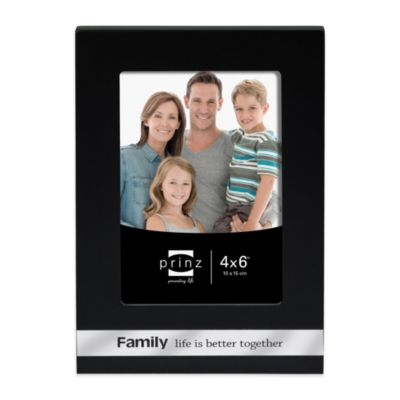 family picture frames prinz 4 inch x 6 inch family sentiments frame