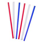 Tervis® 6-Pack 11-Inch Straight Drinking Straws in Traditional Colors