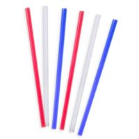 Tervis® 6-Pack 11-Inch Straight Drinking Straws in Fashion Colors