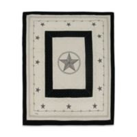 Donna Sharp Texas Pride Throw in Ivory