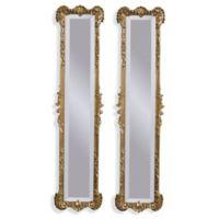 Bassett Mirror Company Helena 2-Panel Mirror in Antique Gold