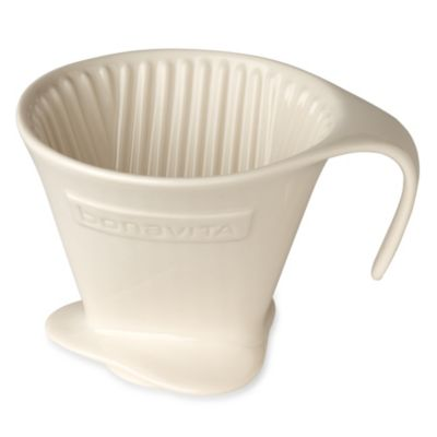 Bodum Pour Over Coffee Maker Bed Bath And Beyond : Bonavita 13 oz. V Style Pour Over Coffee Dripper - Bed Bath & Beyond