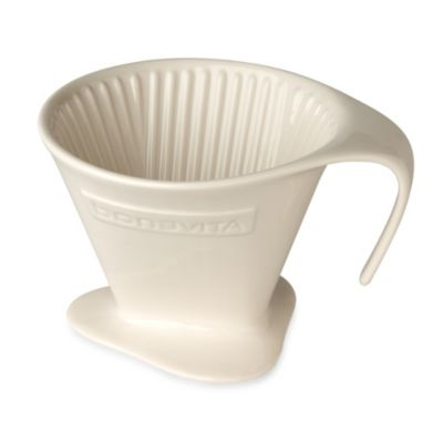 Bodum Pour Over Coffee Maker Bed Bath And Beyond : Bonavita 16 oz. V Style Pour Over Coffee Dripper - Bed Bath & Beyond
