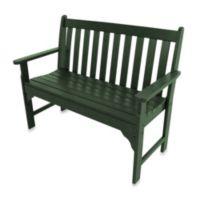 POLYWOOD® Vineyard Bench in Green