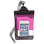 Travelon® Waterproof Smart Phone/Digital Camera Pouch in Pink