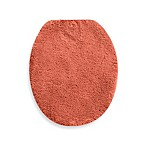 Wamsutta® Perfect Soft Elongated Toilet Lid Cover in Coral