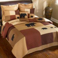 Donna Sharp Logan Bear Twin Quilt