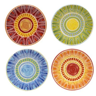 Certified International Tapas 8.75-Inch Desert Plate (Set of 4)  sc 1 st  Bed Bath \u0026 Beyond & Buy Decorative Ceramic Plates from Bed Bath \u0026 Beyond