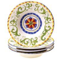 Certified International Amalfi Soup Bowl (Set of 4)