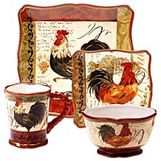 Certified International Tuscan Rooster Dinnerware  sc 1 st  Bed Bath u0026 Beyond & Certified International Tuscan Rooster Dinnerware - Bed Bath u0026 Beyond