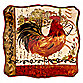 Certified International Tuscan Rooster Square 14.5-Inch Platter