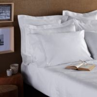Frette At Home Adige California King Sheet Set in White