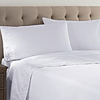 Coastal Life Luxe 300-Thread-Count King Sheet Set in White
