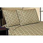 Micro Lush Microfiber Queen Sheet Set in Taupe
