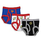 DC Comics™ Justice League Size 2-3T 3-Pack Toddler Briefs