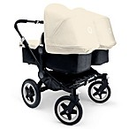 Bugaboo Donkey Extendable Canvas Sun Canopy in Off White