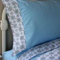 Caden Lane® Modern Vintage Full Sheet Set in Blue