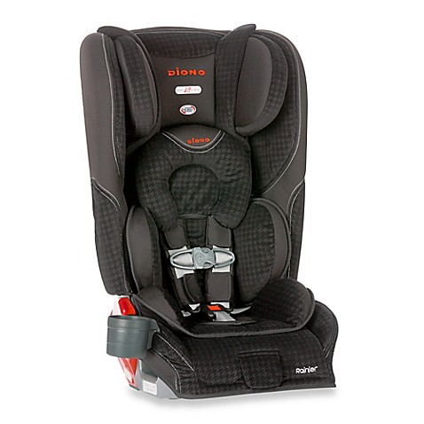 Diono® Rainier Convertible and Booster Car Seat in Black - Bed Bath