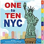 """One to Ten NYC"" Board Book by Puck (Bilingual)"