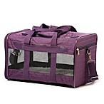 Sherpa Original Deluxe Large Carrier in Purple