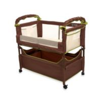 Arm's Reach Clear-Vue Co-Sleeper® in Cocoa/Fern
