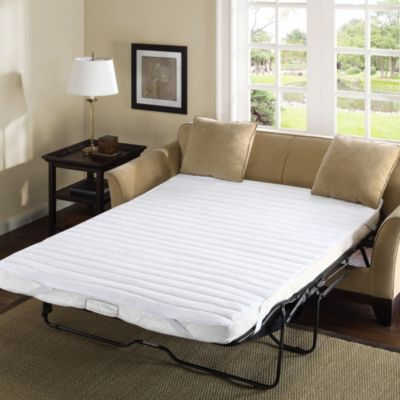 Frisco Microfiber Sofa Bed Full Mattress Pad
