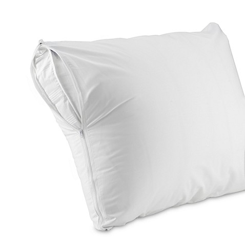 Zippered Pillow Protectors Set Of 2 Bed Bath Amp Beyond