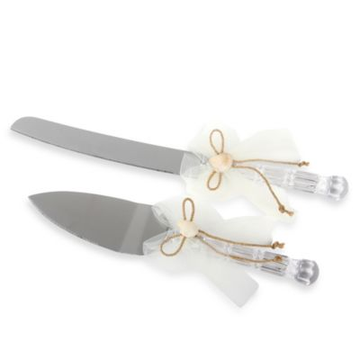 Ivy Lane Design Seas 2 Piece Cake Knife And Server Set