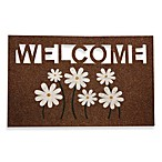 Welcome Daisy Door Mat