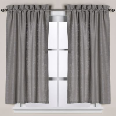 Curtains Ideas bath window curtain : Buy Grey Window Curtain from Bed Bath & Beyond