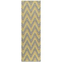 Momeni Geo 2-Foot 3-Inch x 7-Foot 6-Inch Rug in Gold