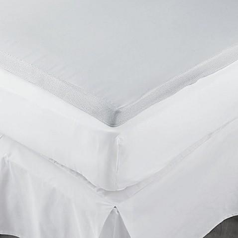 Therapedic 174 2 Inch Memory Foam Mattress Topper Bed Bath