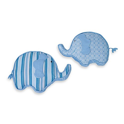 kidsline Dena Indigo Elephant Throw Pillow - Bed Bath & Beyond
