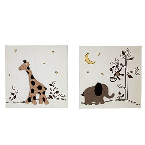 NoJo® Dreamy Nights 2-Piece Canvas Art