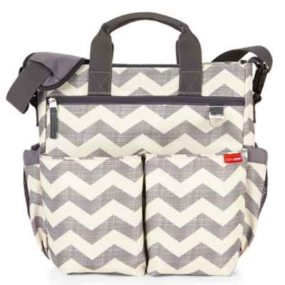 SKIP*HOP® Duo Signature Diaper Bag in Chevron