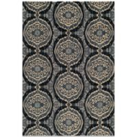 Momeni Habitat 5-Foot x 8-Foot Rug in Denim