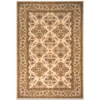 Momeni Persian Garden 9-Foot 6-Inch x 13-Foot Ivory Rug