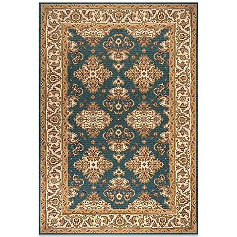 Momeni Persian Garden Teal Blue Rug Bed Bath Amp Beyond