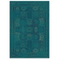 Safavieh Vintage 63-Inch x 90-Inch Panel Rug in Turquoise/Multi