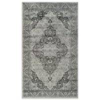 "Safavieh Vintage Kiana 3'3"" x 5'7"" Accent Rug in Light Blue"