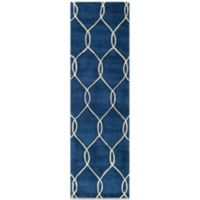 Momeni Bliss 2-Foot 3-Inch x 8-Foot Rug in Navy